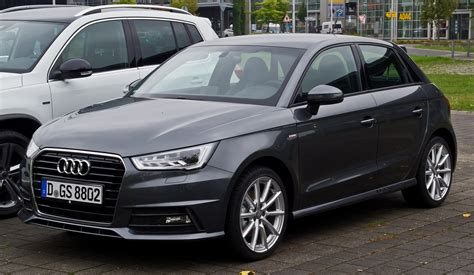A1 Search File Audi A1 Sportback 1 4 Tfsi S Line Facelift Frontansicht 8 August 2015