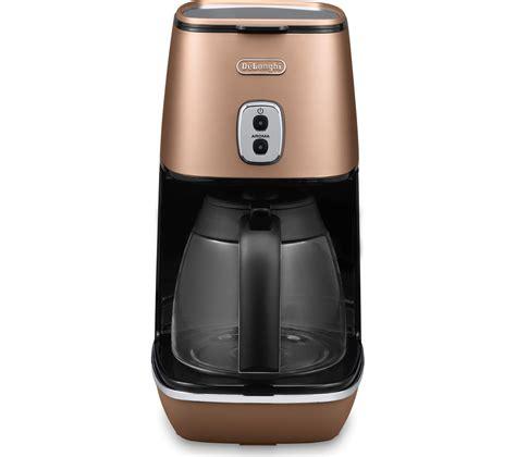 Buy DELONGHI Distinta ICMI211.CP Coffee Maker   Copper   Free Delivery   Currys