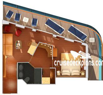 carnival miracle vista suite floor plan carnival legend vista suite category