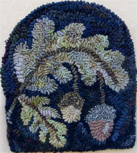 hook rug kits and patterns autumn by pattern only or complete rug hooking kit