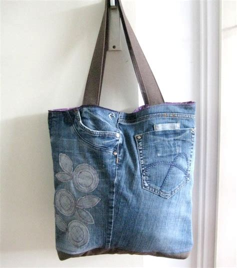 recycled tote bag pattern recycled jeans tote reversible tote pattern sew