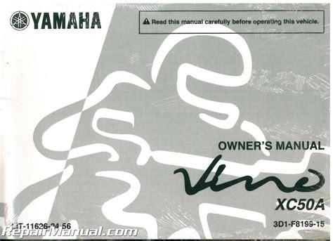 yamaha vino xc50 service manual wiring diagrams wiring