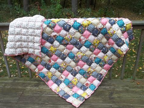 Bisquit Quilt by Size Rag Puff Biscuit Quilt Custom Order Many