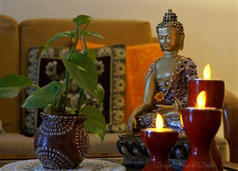 buddhist home decor design decor disha an indian design decor blog