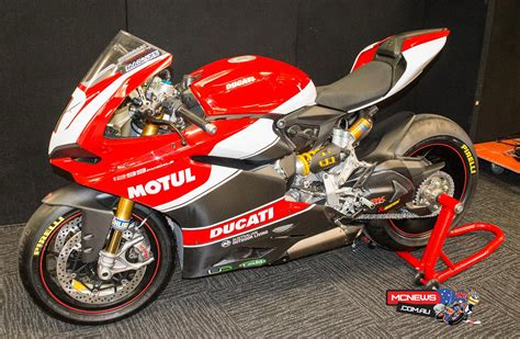 home new bikes ducati bikes 1299 panigale troy bayliss launches new race team mcnews com au