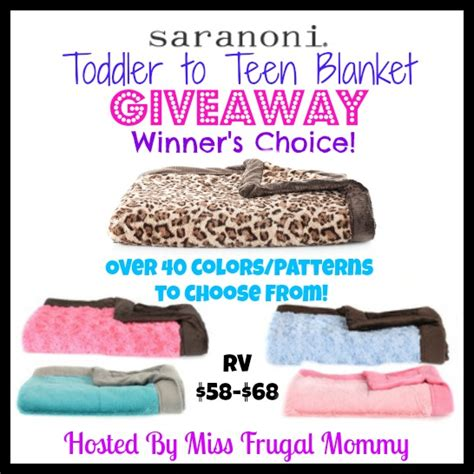 Blanket Giveaway - saranoni toddler to teen blanket giveaway the stuff of success