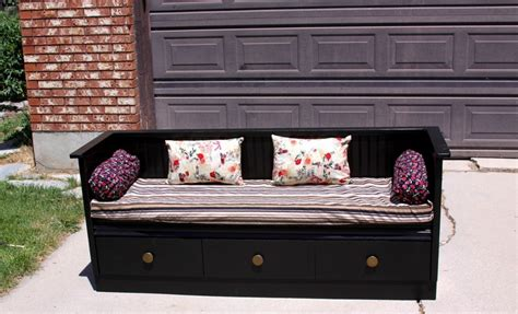 diy dresser bench dresser upcycled into a bench the owner builder network