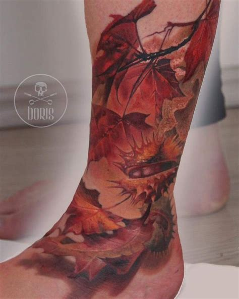 fall tattoo 25 best ideas about fall leaves on