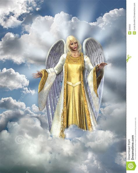 angel of light bible angel of light in sky stock illustration illustration of