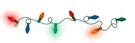 christmas lights gif clipart best