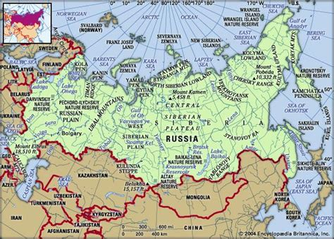 map of russia with cities rivers and mountains russia geography history map facts britannica