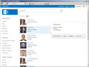 how to create a simple sharepoint 2013 people directory 梁