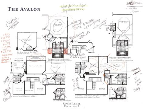 avalon floor plan building a ryan home avalon may 2012