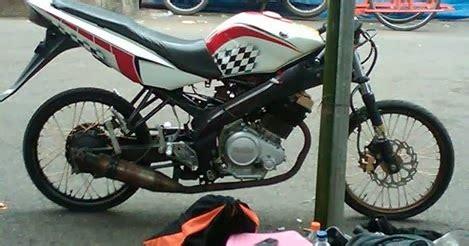 Lu Motor Vixion bikin motor balap vixion blok satria fu surabaya