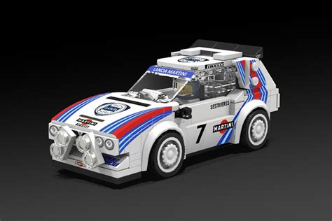 new lego rally cars proposed for speed chions line evo