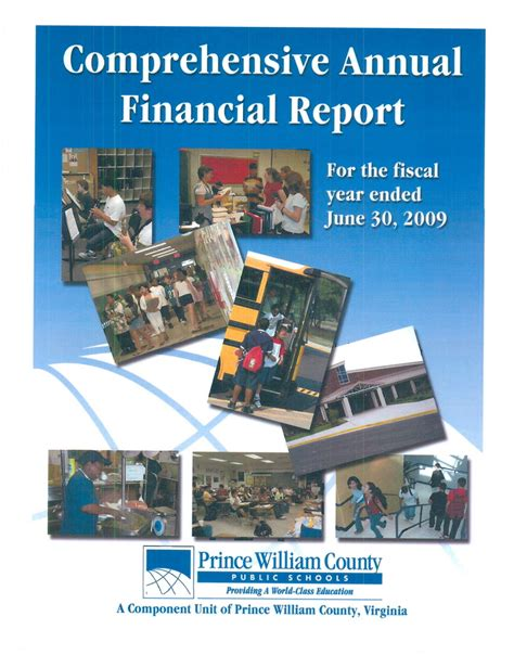 prince william county section 8 finance reports prince william county public schools