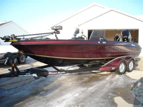 fiberglass walleye boats for sale john kolinski s triton boat for sale on walleyes inc www