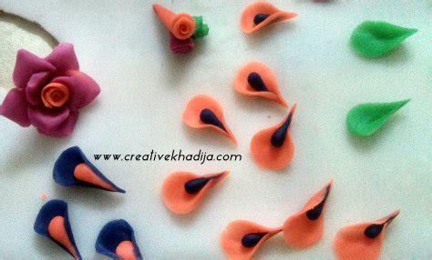 homemade flowers how to make dough flowers