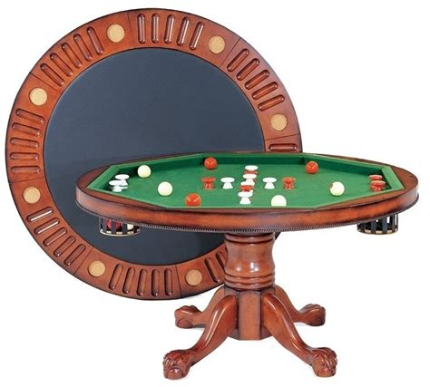 3 In 1 Bumper Pool Table by Berner Billiards 3 In 1 Table 54 Quot With Bumper Pool Antique Walnut