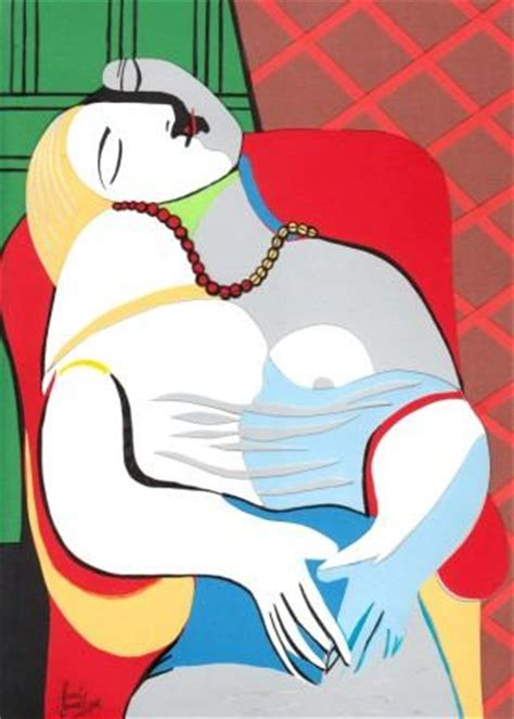 picasso paintings le reve le reve picasso by saraillamas on deviantart