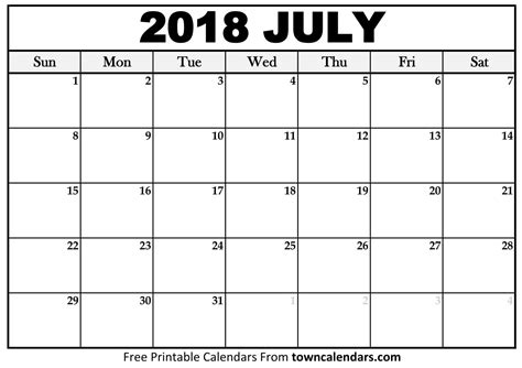 18 month calendar for writers july 2018 december 2019 books printable july 2018 calendar towncalendars