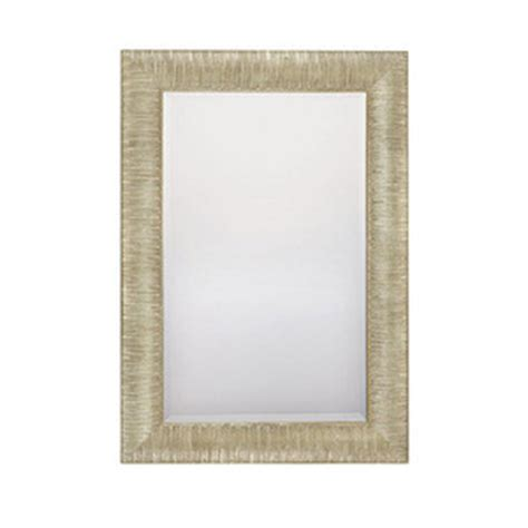 ferguson bathroom mirrors cm322025 square rectangular mirror striated silver and
