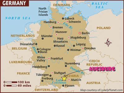 map augsburg germany augsburg germany 2007