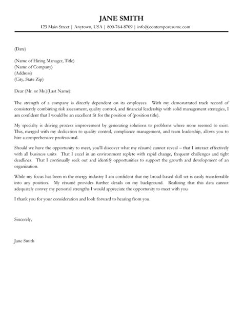 management cover letter templates manager cover letter