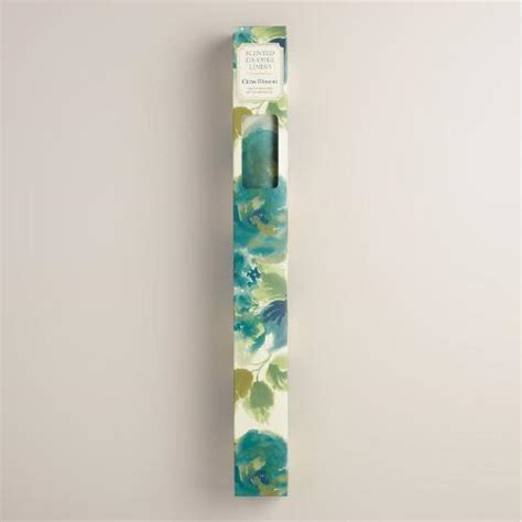 citrus blossom scented drawer liner paper 6 pack world