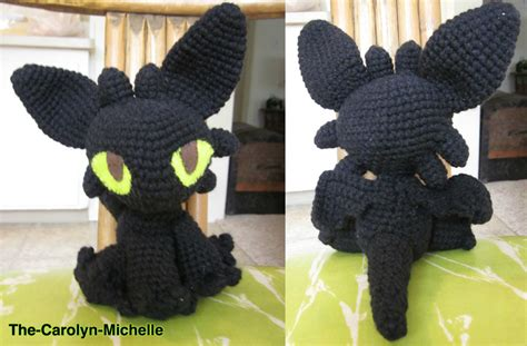 toothless knitting pattern toothless the baby fury by the carolyn on