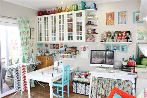 Home Decor On A Budget Blog by Sewing Room Of The Month Art Gallery Fabrics The