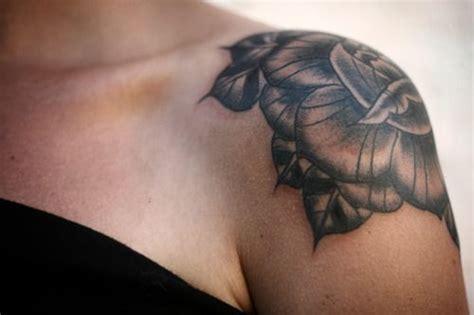 tattoo shoulder cap rose cap shoulder tattoo not this design but someday