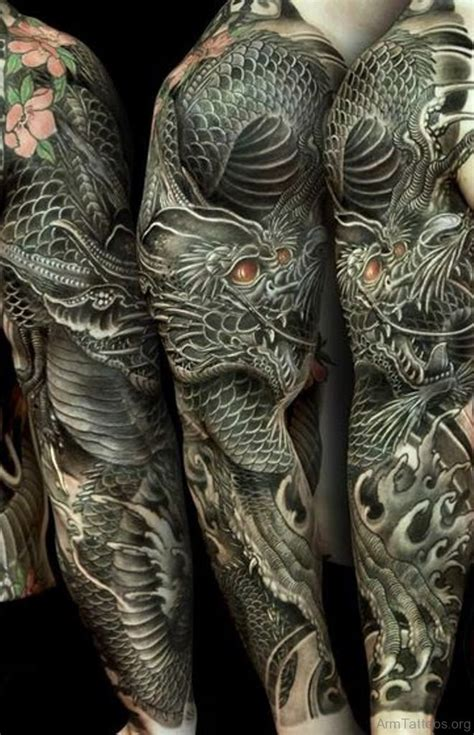 dragon tattoo arm 70 attractive tattoos on arm