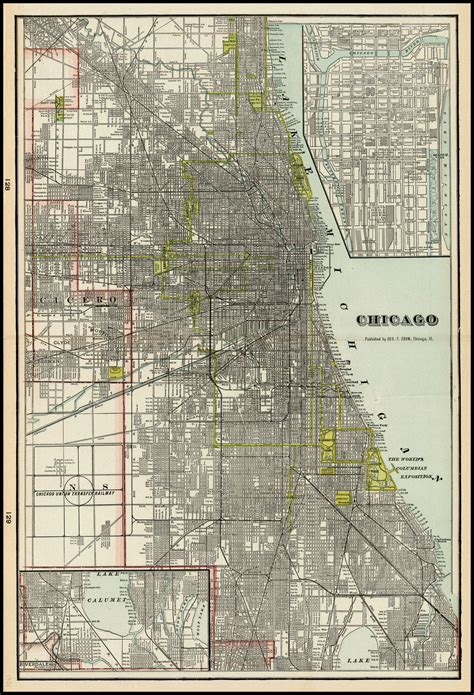 vintage chicago map vintage chicago map 28 images vintage 1906 map of
