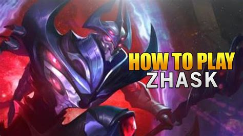 Tutorial Zhask | epicamazing mobile legends how to play zhask pro guide