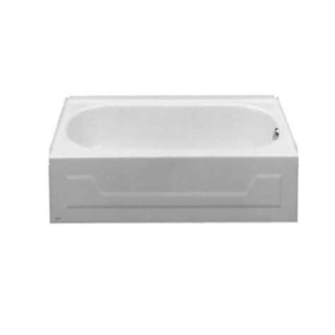 54 bathtub american standard shop american standard 54 in x 30 in mackenzie white