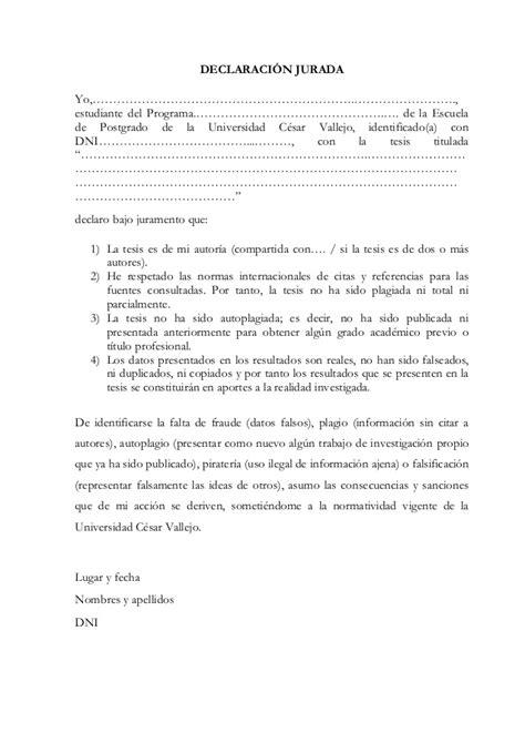 declaracion jurada personal modelo declaracion jurada estandar apexwallpapers com