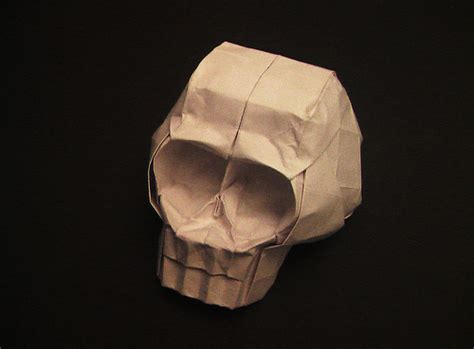 Skull Origami - origami skull flickr photo