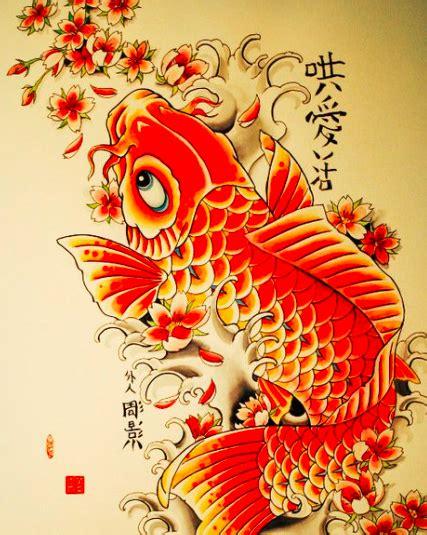 tatuaggi carpe e fiori tatuaggio carpa koi significato ed immagini passionetattoo