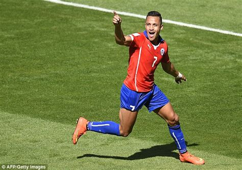 Global Money Transfer by Alexis Sanchez Has Risen From Playing Barefoot In A