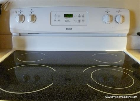 Stove Tops How To Clean A Stove Top Made Of Glass Joyful Homemaking