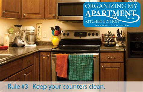 organize apartment kitchen organizing my apartment 6 rules for the kitchen small