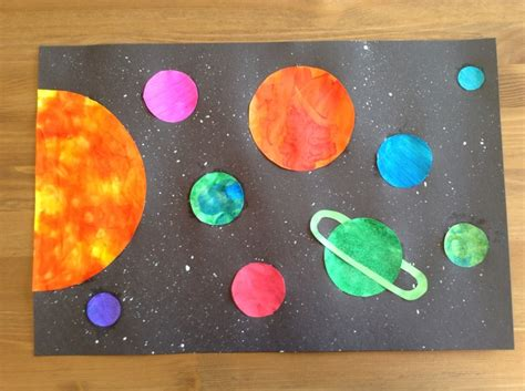 solar system crafts for solar system craft preschool craft space craft solar