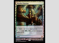 Wooded Bastion | OATH OF THE GATEWATCH MTG Visual Spoiler G Dragon