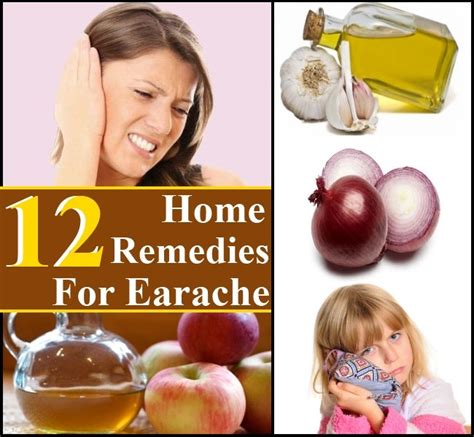 12 and simple home remedies for earaches diy home