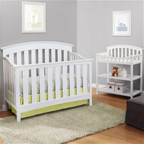 White Crib And Changing Table Set by Storkcraft 2 Nursery Set Sorrento Lifestyle Crib