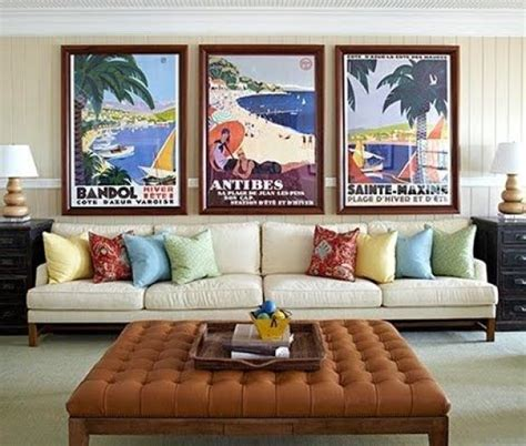 cool posters for living room spruce up your home decor with vintage posters