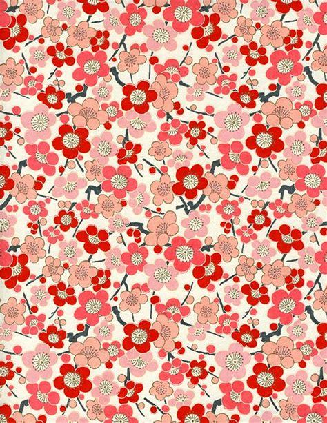fabric pattern paper japanese blossom pattern japanese stuff pinterest