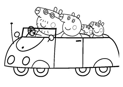 Peppa Pig Coloring Pages And Sheets Princess Peppa Pig Pictures Free Coloring Pages