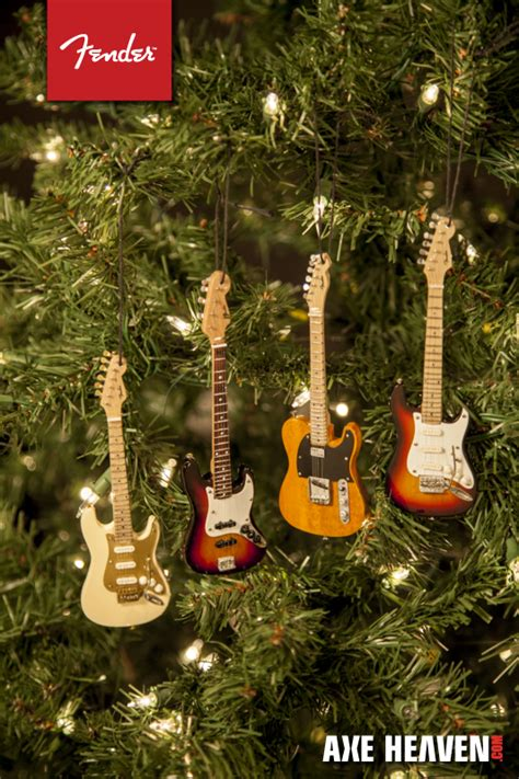 new 2014 mini fender guitar ornaments axe heaven miniature guitars